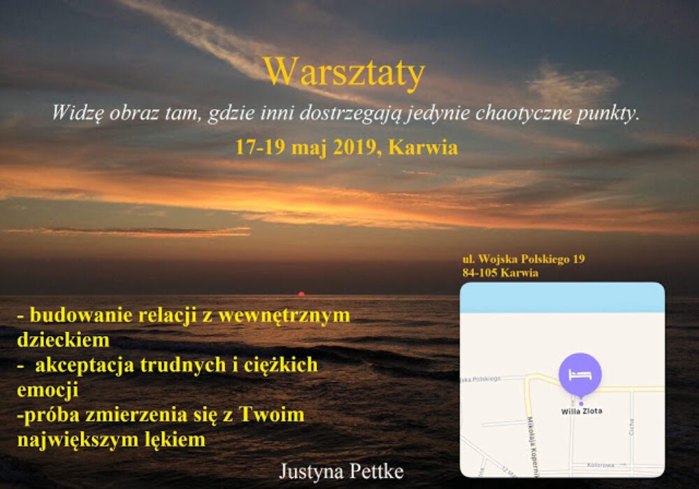 Warsztaty 17-19 maja 2019